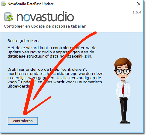 novastudio database update
